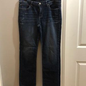 Banana Republic Straight Leg Distressed Size 14